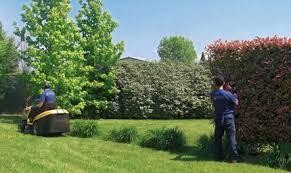 La manutenzione dei giardini